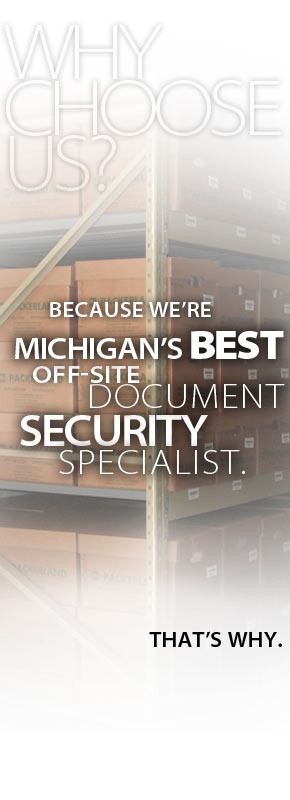 Packerland Records Management is Michigans premiere off-site security specialist